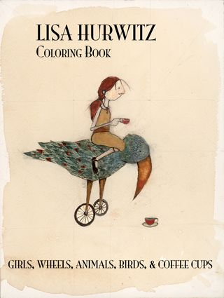 Front cover coloring book
